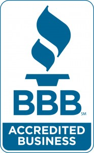 BBB accredit business logo blue